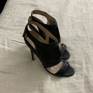 Nicole Miller Black Heels